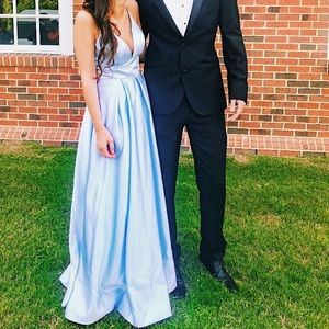 Dresses & Skirts - Sky Blue Gown/Prom Dress